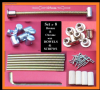 Bed bolts/connectors KD 125mm x 6mm Dowels & Screws [set of 8].1-10pk [sets]